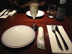 店内:セッティング@Pizzeria Da Gaetano(ピッツェリア・ダ・ガエターノ)・薬院・福岡