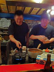 2店内:厨房@博多っ子純情屋台・喜柳