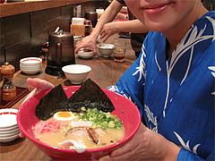 料理:本店かさね味と記念写真その2@博多一風堂大名本店