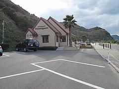 外観:駐車場@カフェレストラン二見ヶ浦 ・糸島