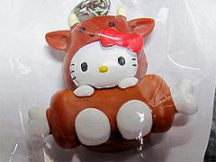 オリジナルストラップ・キティちゃん(HELLO-KITTY)アップ@全国食肉取引協議会