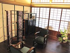 外観:松楠居(しょうなんきょ)1階@博多織デベロップメントカレッジ・松楠居・やぶ金