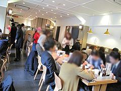 5店内:テーブル席@わっぱ定食堂・天神・今泉