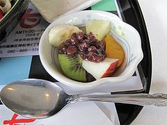 料理:ミニミニあんみつ@麺処・甘(かん)