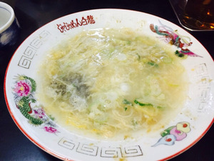 18じゃじゃ麺@白龍