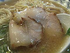 11ランチ:豚骨ラーメンチャーシュー@元祖赤のれん・節ちゃんラーメン・野間店