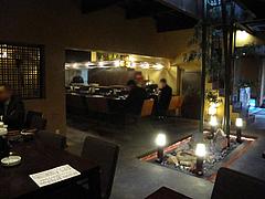 5店内:テーブル席@ラーメン居酒屋・長浜将軍・門