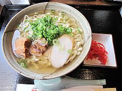 料理:沖縄そば580円@結の懸け橋・平尾