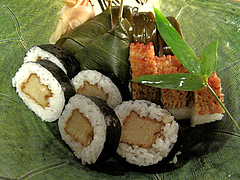10料理:盛り合わせ@京寿司ランチ・祇園いづ重