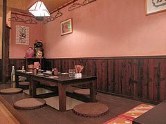 13店内:小上がり@博多こっこ家・焼鳥居酒屋・春吉