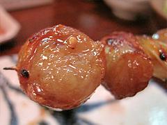 料理:丸腸アップ@やきとり処・博多こっこ家・春吉