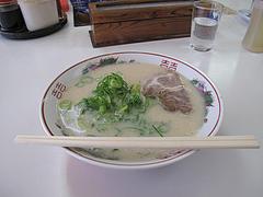 5ランチ:ラーメン500円@長浜ラーメン上杉・唐人町