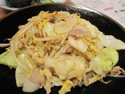 12野菜炒め@屋台おかもと
