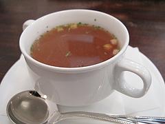 料理:コンソメスープ@ニュースマイル・薬院