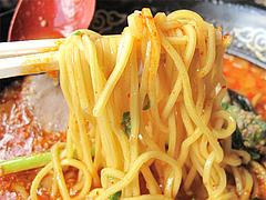 料理:みそくーた中太麺@ラーメンく〜た半道橋店・博多区