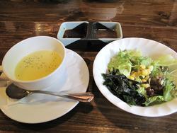 6スープとサラダ@うえすたん西新