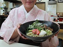料理:涼麺650円@しばらく平和台店・大手門