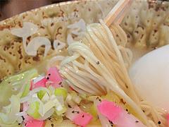 料理:ちゃんラーメンの麺@博多ちゃんぽん・つけ麺・ちょき・六本松
