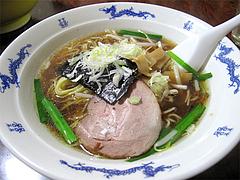 料理:ラーメン500円@中華料理・晴華楼・博多区祇園町