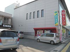 14外観:駐車場@S福一ラーメン・道善・那珂川