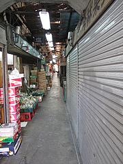 外観:赤坂門市場通り@まんぼ亭・赤坂門市場