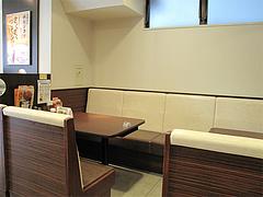 店内:ボックス席@カレーハウスCoCo壱番屋・福岡