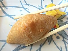 ランチ:冷麺そば+いなり50円@鳴門うどん・久留米・山川