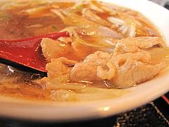 11ランチ:中華ラーメンスープの具@中華・同福居