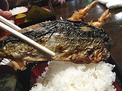 14メニュー:塩サバの大きさ@食季楽・風香・高宮