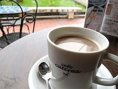 料理:カフェラテ3.5ドル@インターネットカフェ『キャットクレア CAT CREA』・グアム