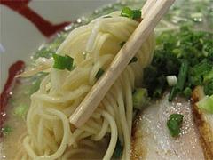 料理:博多らーめん麺@博多らあめん・てん・大橋
