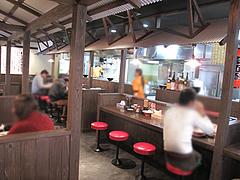 4店内:カウンター@博多屋台ラーメン・満麺屋・北天神