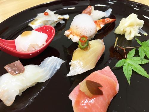 【京都】美創作系!たつみ寿司の博多にぎり♪@京都タカシマヤの大九州展