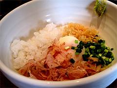 料理:おろしぶっかけ580円@うどん・博多あかちょこべ