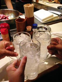 3乾杯@ひがし田