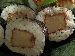 21料理:粟麩巻@京寿司ランチ・祇園いづ重