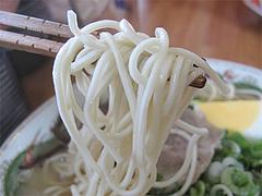 料理:ラーメン麺@清陽軒本店・福岡市南区長住