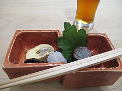 6和食・鰻:先付け@中洲しか野・う奈ぎ(うなぎ)道場・松戸