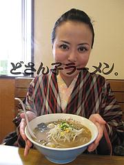 料理:かき味噌ラーメン食べる@札幌ラーメンどさん子・福岡