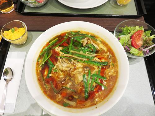 7カキ入り酸辣湯麺1,280円