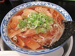 料理:醤油らーめん580円@らーめん・ゆきみ家