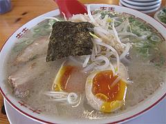 14ランチ:煮玉子もやしラーメン500円@七福亭ラーメン