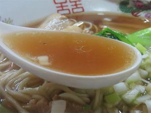 6チャーシューめん汁@中華食堂リュウ