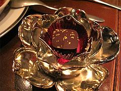 料理:ヘネシー風味のショコラ@Le grenier de Goh(Gohの屋根裏部屋)