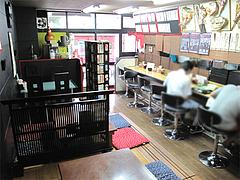 店内:カウンターと小上がり@一点公・福岡市南区