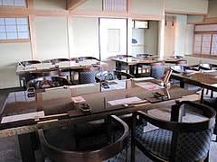 店内:レストラン@僧伽小野・糸島