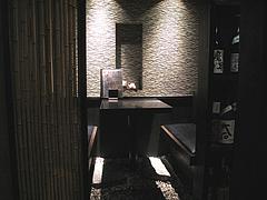 5店内:半個室@銀の月・天神本店