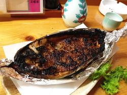 5五島名物・ハコフグの味噌焼き@春夏秋冬