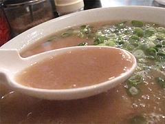 ランチ:とんこつらーめんスープ@博多長浜らーめん風び・中州川端店