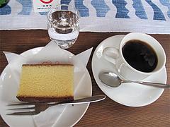 料理:コーヒーとカステイラ@カフェ・エルグレコ・倉敷